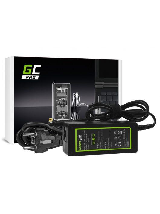 Green Cell PRO  Töltő / Hálózati töltő Laptop Acer 65W / 19V 3.42A / 5.5mm-1.7mm