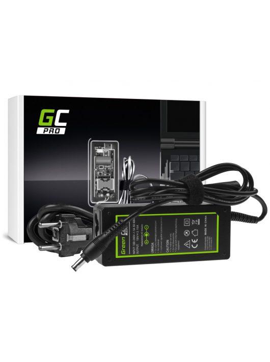 Green Cell PRO Töltő / Hálózati töltő Samsung 60W / 19V 3.16A / 5.5mm-3.0mm