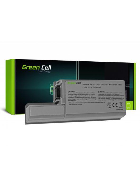 Green Cell Laptop akkumulátor / akku Dell Latitude D531 D531N D820 D830 PP04X Precision M65 M4300