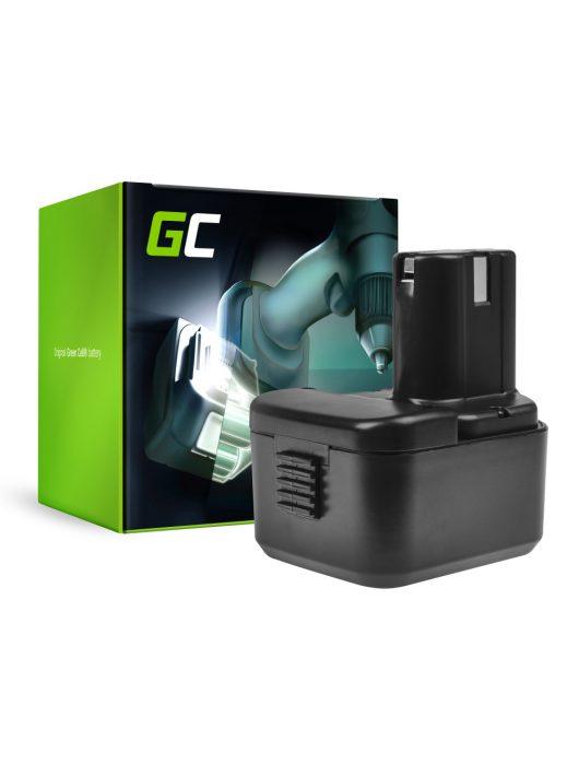 Green Cell Kéziszerszám akkumulátor / akku Hitachi CG 10DL WH 12DH
