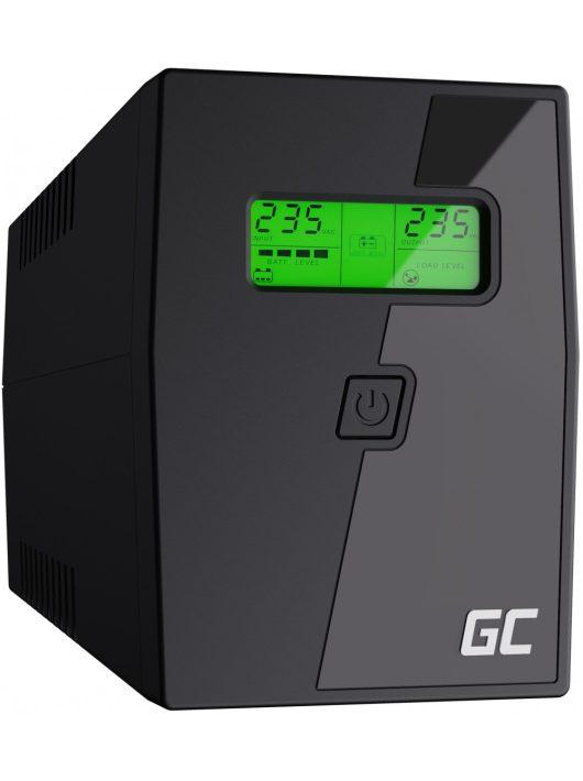 Green Cell UPS Szünetmentes tápegység Micropower 800VA