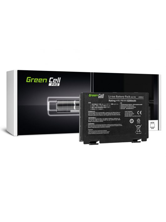 PRO Laptop akkumulátor / akku Asus K40 K50 K50AB K50C K51 K51AC K60 K70 X70 X5DC AS01PRO