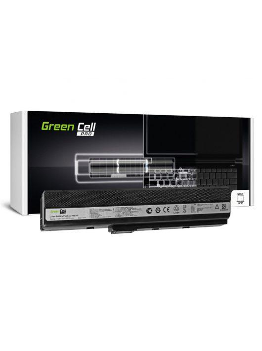 Green Cell PRO Laptop akkumulátor / akku K52 K52J K52F K52JC K52JR K52N X52 X52J A52 A52F