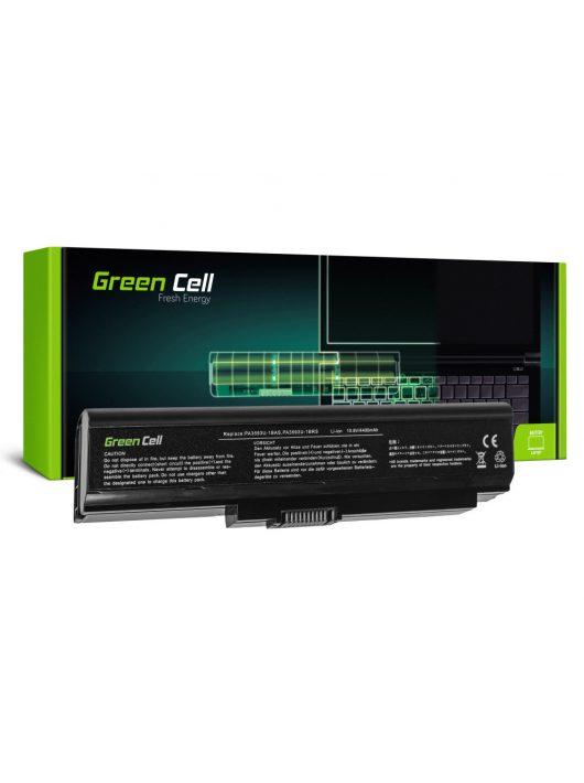 Green Cell Laptop akkumulátor / akku Toshiba Satellite Pro U300  Portege M600 Tecra M8