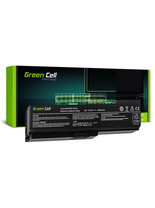Green Cell Laptop akkumulátor / akku Toshiba Satellite C650 C650D C660 C660D L650D L655 L750
