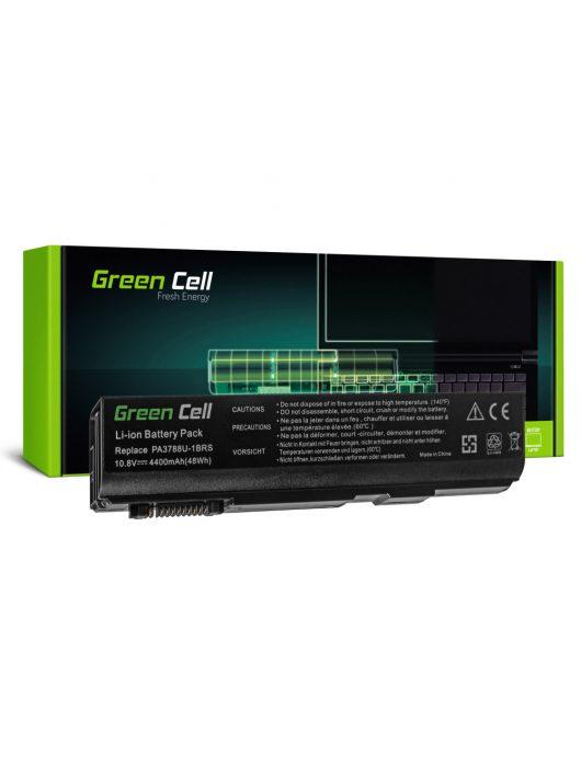 Green Cell Laptop akkumulátor / akku Toshiba DynaBook Satellite L35 L40 L45 K40 B550 Tecra M11 A11 S11 S500