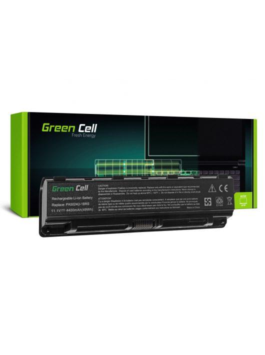 Green Cell Laptop akkumulátor / akku Toshiba Satellite C850 C855 C870 L850 L855