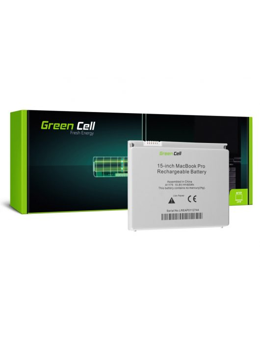 Green Cell Laptop akkumulátor / akku Apple MacBook Pro 15 A1150 A1211 A1226 A1260 2006-2008