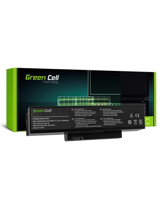 Green Cell Laptop akkumulátor / akku Fujitsu Esprimo Mobile V5515 V5535 V5555 V6515 V6555