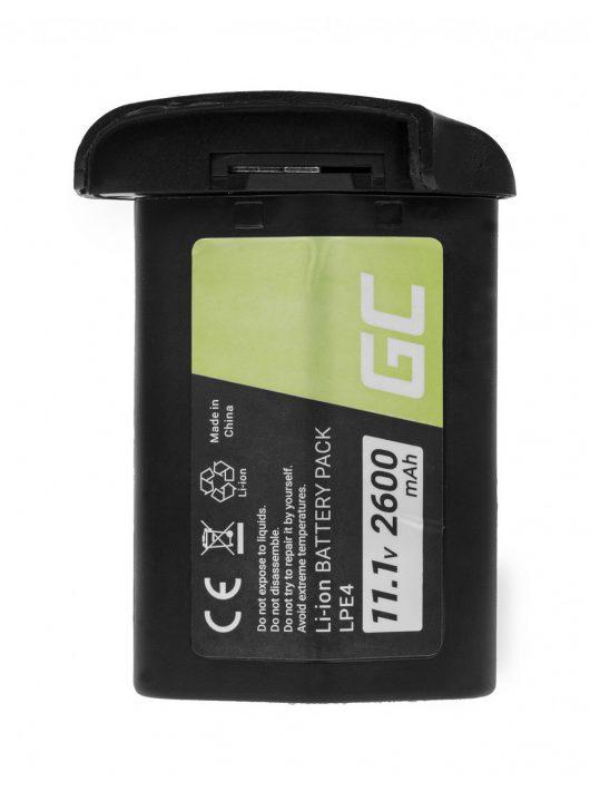 Green Cell Digitális kamera akkumulátor / akku Canon EOS 1D 1Ds 1D X 1D Mark III Mark IV 11.1V