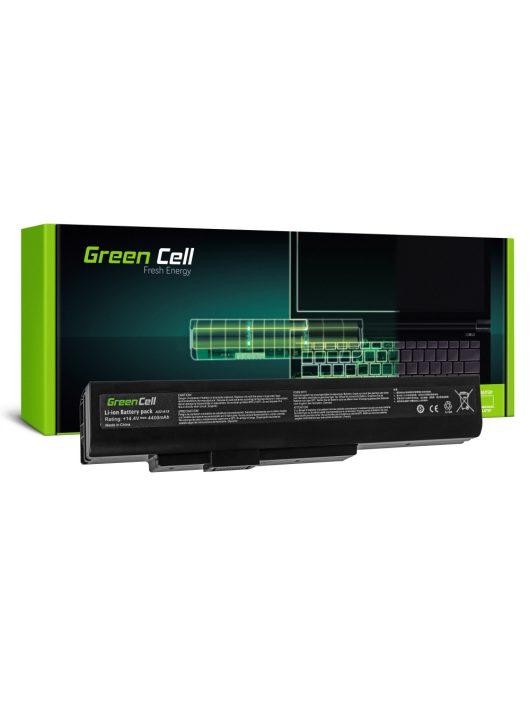 Laptop akkumulátor / akku MSI A6400 CR640 CX640 MS-16Y1 MS04