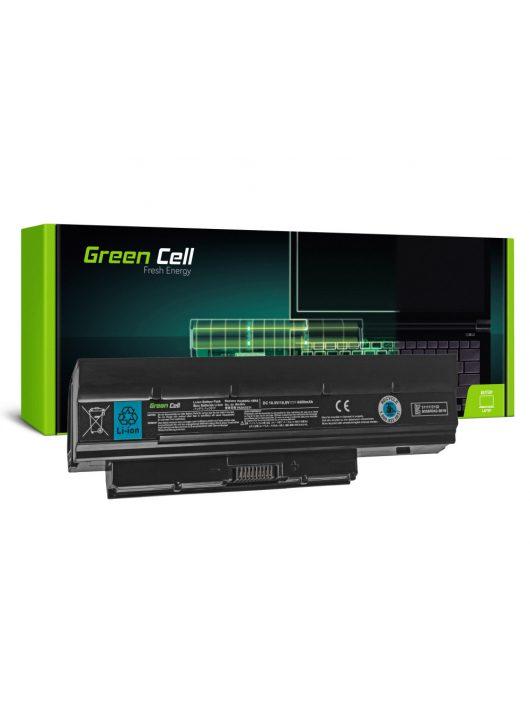 Green Cell Laptop akkumulátor / akku Toshiba DynaBook N200 N510 Mini NB500 NB505 NB520 NB550