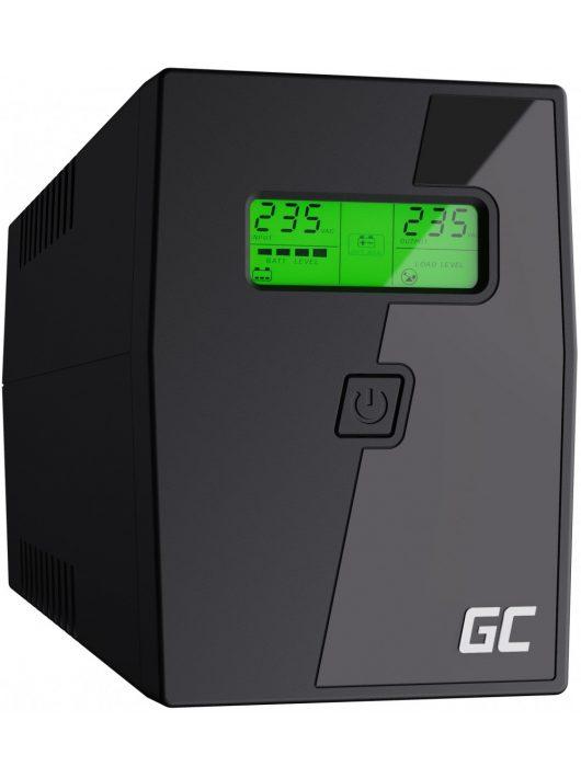 UPS Szünetmentes tápegység Micropower 600VA  LCD kijelző