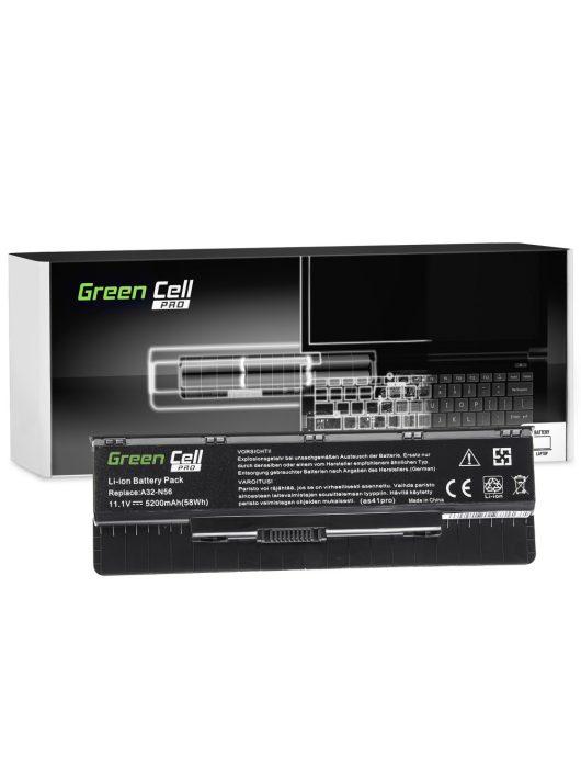 Green Cell Pro Laptop akkumulátor / akku Asus G56 N46 N56 N56DP N56V N56VM N56VZ N76