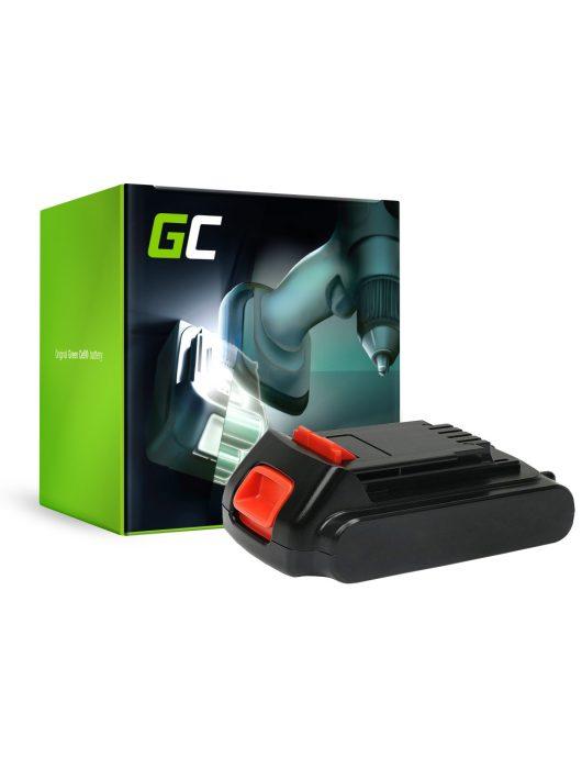 Green Cell kéziszerszám akkumulátor / akku Black&Decker ASD ASL LGC120