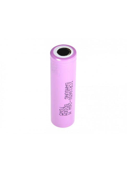 Samsung Li-Ion Cell ICR18650-26H 2600 mAh CE01
