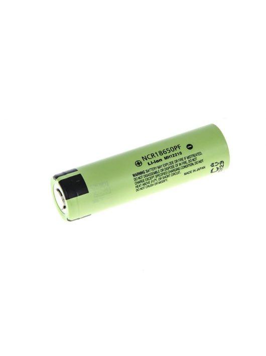 Panasonic Li-Ion Cell 18650 NCR18650PF 2900 mAh CE02