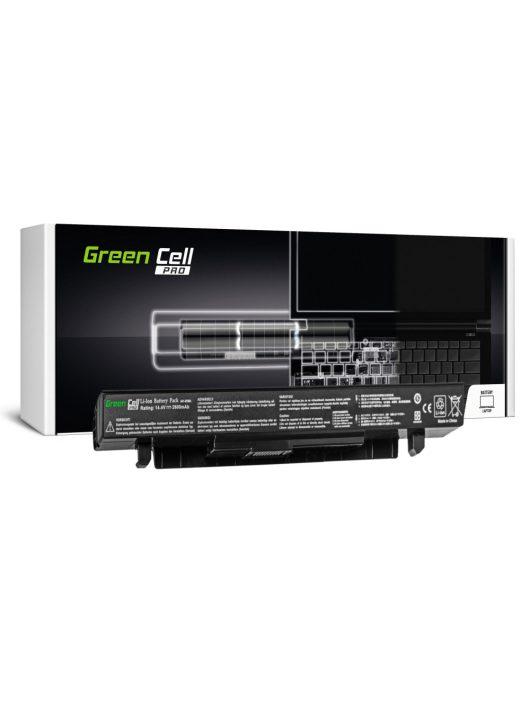 Green Cell Pro laptop akkumulátor / akku A41-X550A A450 A550 R510 R510CA X550 X550CA X550CC X550VC 2600mAh