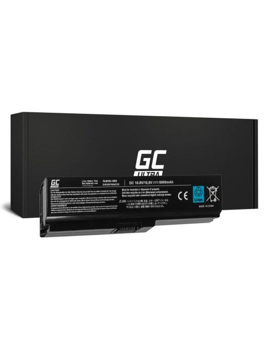 Green Cell Ultra Laptop akkumulátor / akku Toshiba Satellite C650 C650D C660 C660D L650D L655 L750 6800mAh