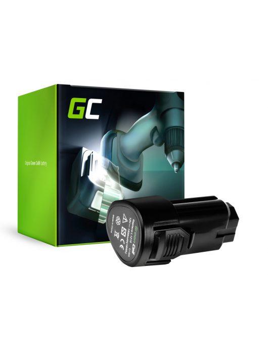 Green Cell Kéziszerszám akkumulátor / akku L1215  AEG BBH12 BBS12C BBS12C2 BS12C BS12C2 BSB12C BSB12C2 OMNI 12C