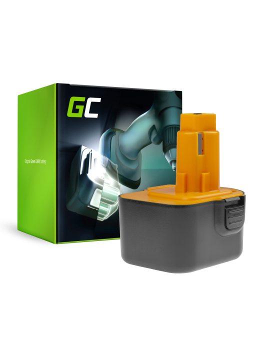Green Cell Kéziszerszám akkumulátor / akku DeWalt and Black&Decker 12V 3000mAh