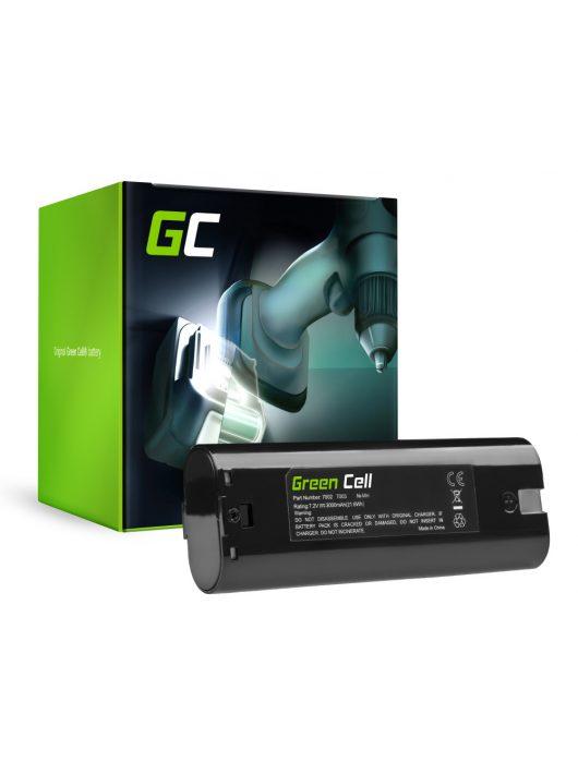 Kéziszerszám akkumulátor / akku Makita ML700 ML701 ML702 3700D 4071D 6002D 6072D 9035D 9500D 3000mAh PT58