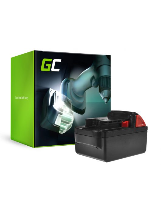 Green Cell Kéziszerszám akkumulátor / akku Milwaukee C18 M18 18V 3000mAh