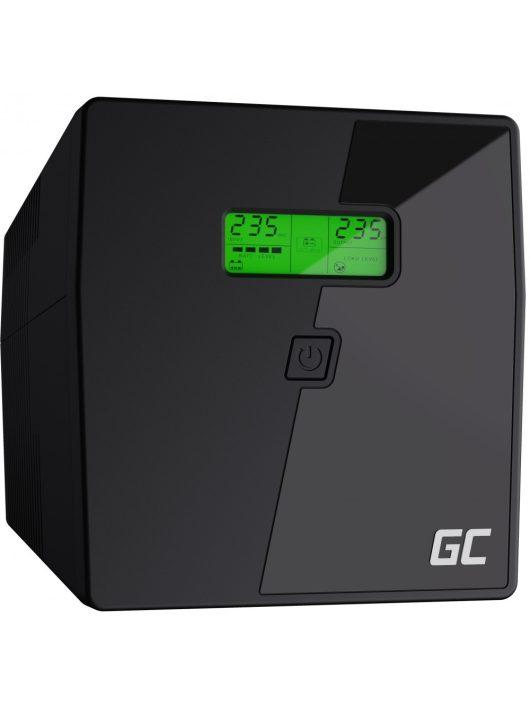 UPS Szünetmentes tápegység Microsine 1000VA LCD kijelző UPS08