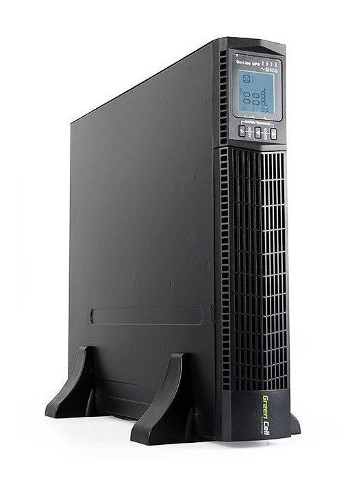 UPS Szünetmentes tápegység Online RTII 2000VA LCD kijelző