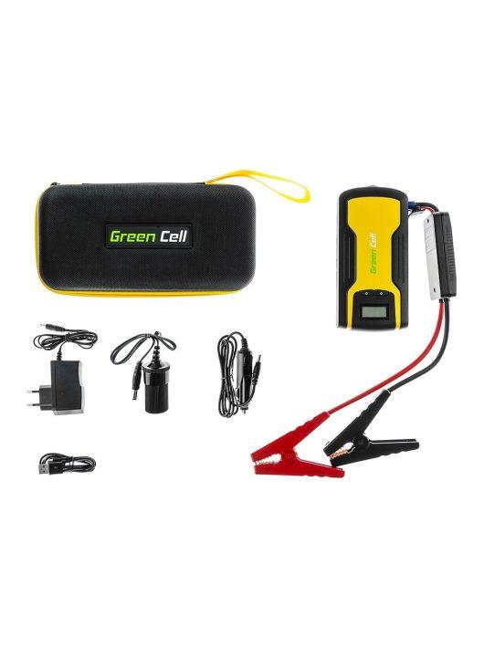 Green Cell Multi-Functional Autós Hordozható töltő 11100 mAh
