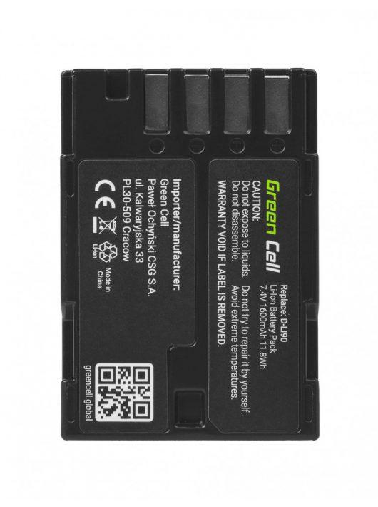 Green Cell Digitális Kamera akkumulátor / akku Pentax 645 645D 645Z 7.4V