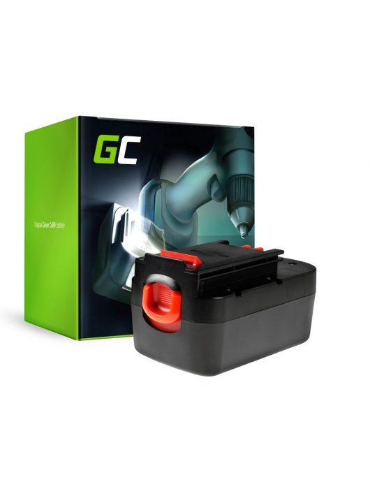 Green Cell Kéziszerszám akkumulátor / akku Black&Decker A12 A1712 HPB12 12V 3Ah