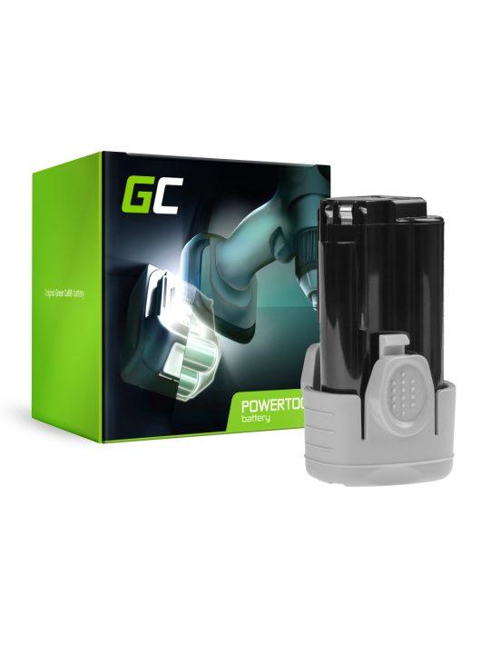 Green Cell Kéziszerszám akkumulátor / akku Black&Decker BL1110 BL1310 BL1510 BDCDMT112 10.8V 1.5Ah