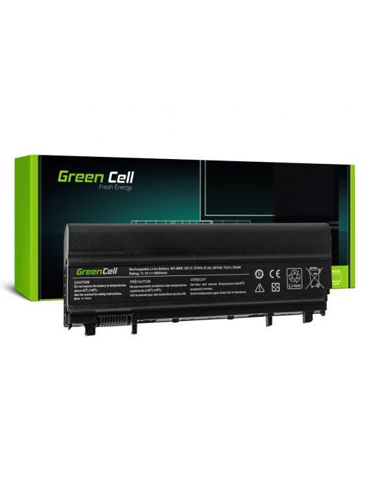Bővített Laptop akkumulátor / akku 3K7J7 VV0NF N5YH9 Dell Latitude E5440 E5540 6600mAh DE106