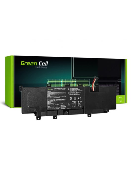 Green Cell Laptop akkumulátor / akku Asus VivoBook S300 S300C S300CA S400 S400C S400CA X402 X402C