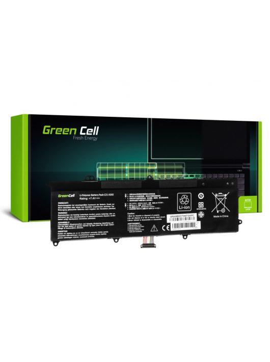 Green Cell Laptop akkumulátor / akku Asus X201E F201E VivoBook F202E Q200E S200E X202E