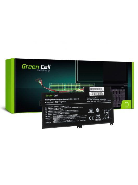 Green Cell Laptop akkumulátor / akku Samsung 370R 370R5E NP370R5E NP450R5E NP470R5E NP510R5E
