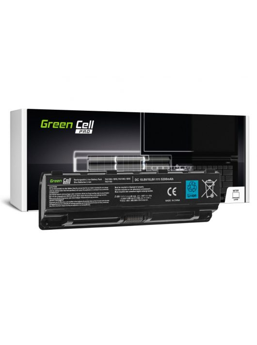 Green Cell Pro Laptop akkumulátor / akku Toshiba Satellite C50 C50D C55 C55D C70 C75 L70 P70 P75 S70 S75