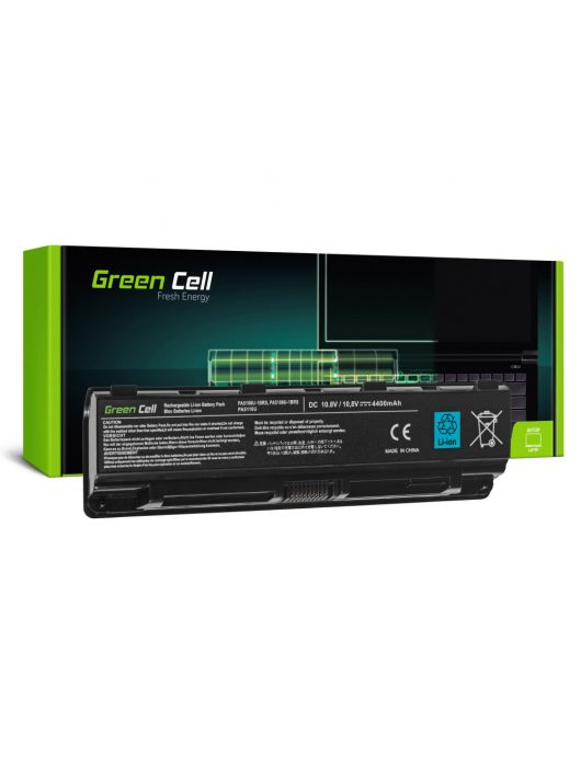 Green Cell Laptop akkumulátor / akku Toshiba Satellite C50 C50D C55 C55D C70 C75 L70 S70 S75