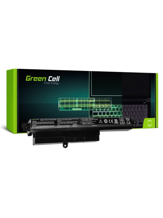 Green Cell Laptop akkumulátor / akku Asus X200 X200C X200CA X200L X200LA X200M X200MA K200MA VivoBook F200 F200C