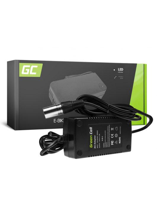 Green Cell Elektromos kerékpár akkumulátor / akku Töltő 54.6V 1.8A (Canon) 48V