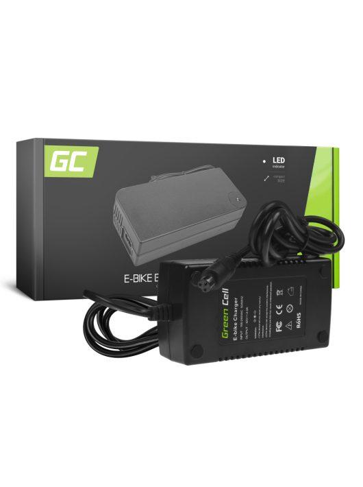 Green Cell Elektromos kerékpár akkumulátor / akku Töltő 42V 2A (3 pin) 36V
