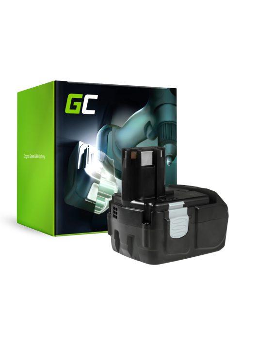 Green Cell Kéziszerszám akkumulátor / akku Hitachi BCL1815 C18DL 18V 2Ah