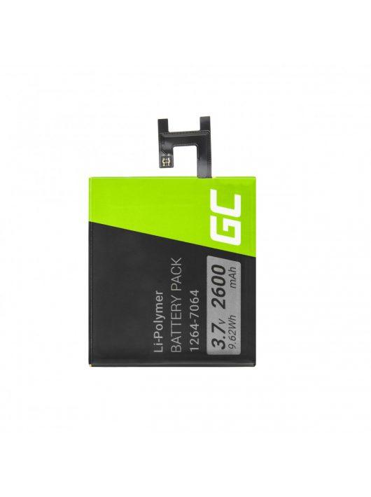 Green Cell Smartphone akkumulátor / akku Sony Xperia Z C6602 L36H L36i