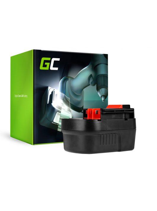 Green Cell Kéziszerszám akkumulátor / akku Black&Decker A12 A1712 HPB12 12V 2Ah