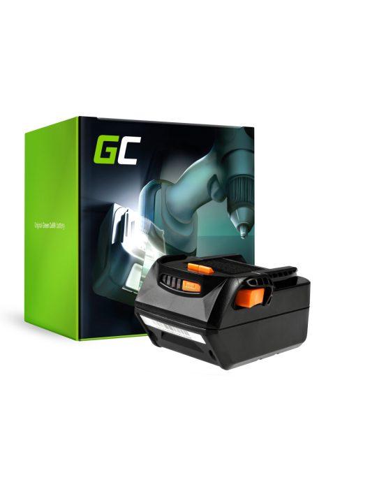 Green Cell Kéziszerszám akkumulátor / akku AEG L1830R B1820R 18V 4Ah
