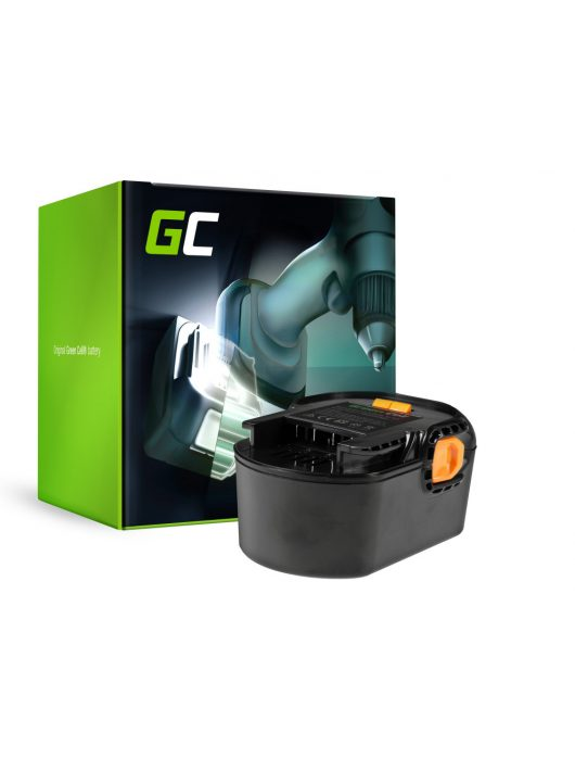 Green Cell Kéziszerszám akkumulátor / akku AEG BS 14 G BS 14 X 14.4V 3Ah