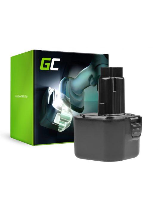 Green Cell Kéziszerszám akkumulátor / akku Dewalt DE9036 DE9061 9.6V 2Ah