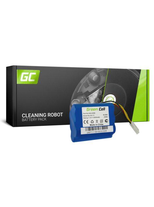 Green Cell Kéziszerszám akkumulátor / akku Neato 945-0006 XV-11 XV-12 XV-21 XV-25 7.2V 3.5Ah