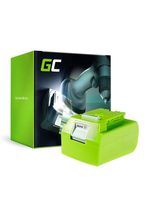 Green Cell Kéziszerszám akkumulátor / akku GreenWorks 29852 G-24 G24 24V 4Ah Samsung